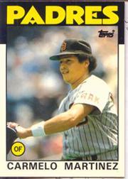 1986 Topps Tiffany #67 Carmelo Martinez