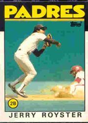 1986 Topps Tiffany #118 Jerry Royster