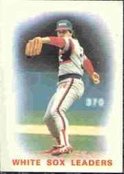 1986 Topps Tiffany #156 White Sox Leaders/Richard Dotson