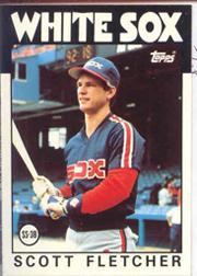 1986 Topps Tiffany #187 Scott Fletcher