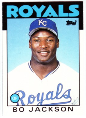 Image result for topps 1986 bo jackson