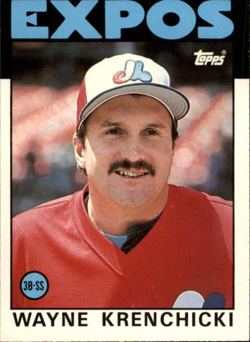 1986 Topps Traded #55T Wayne Krenchicki