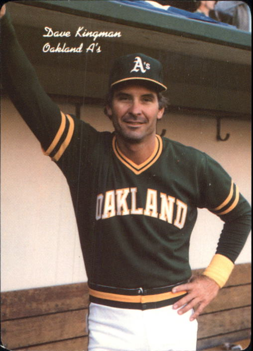 1986 A's Mother's #2 Dave Kingman