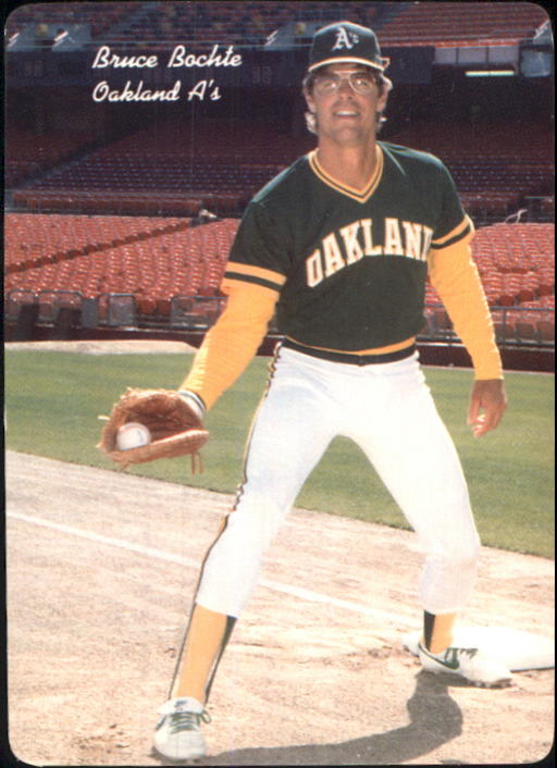 1986 A's Mother's #10 Bruce Bochte