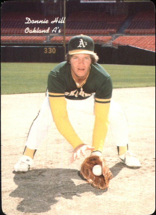 1986 A's Mother's #12 Donnie Hill