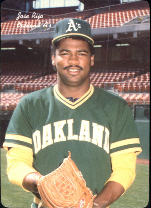 1986 A's Mother's #13 Jose Rijo