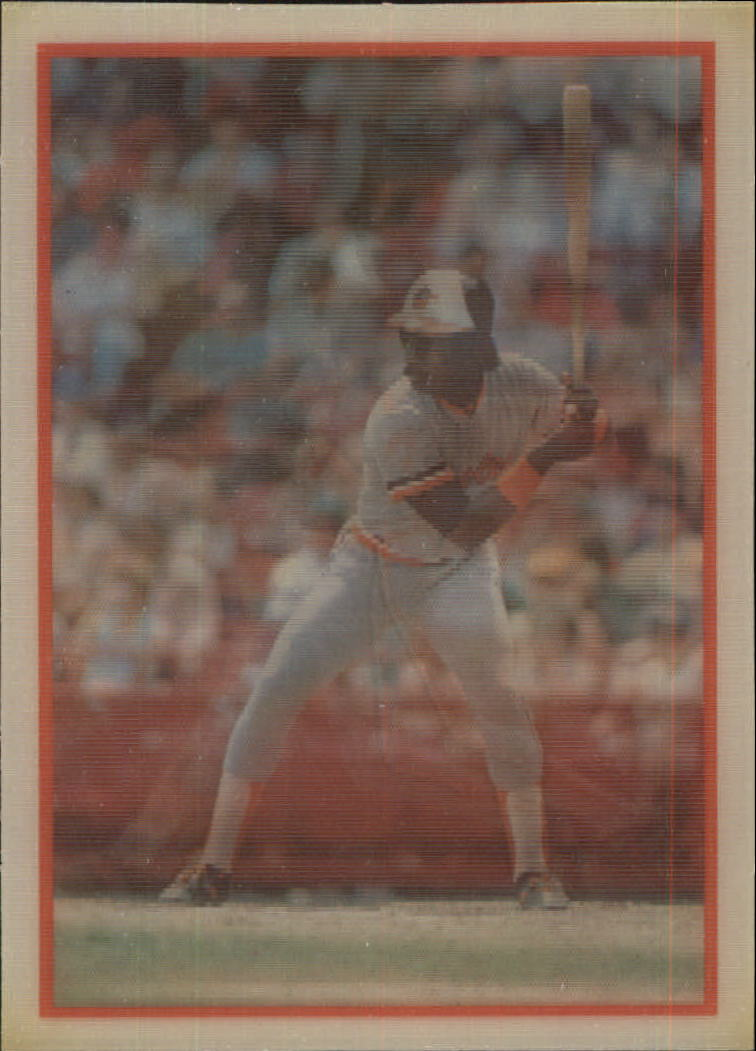 1987 Sportflics #6 Eddie Murray