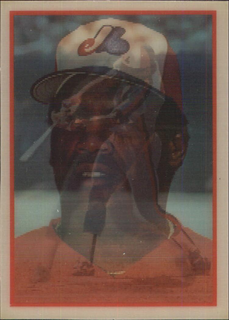 1987 Sportflics #34 Tim Raines