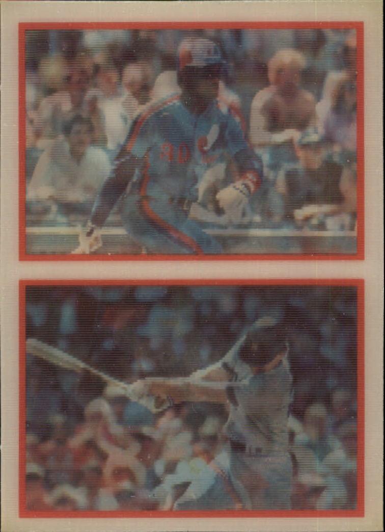 1987 Sportflics #197 Big Six Brett/Gwynn/Ryno
