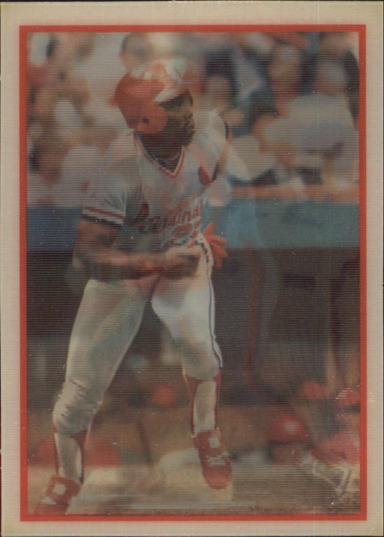 1987 Sportflics #199 Speedburners Raines/Cole/Davis
