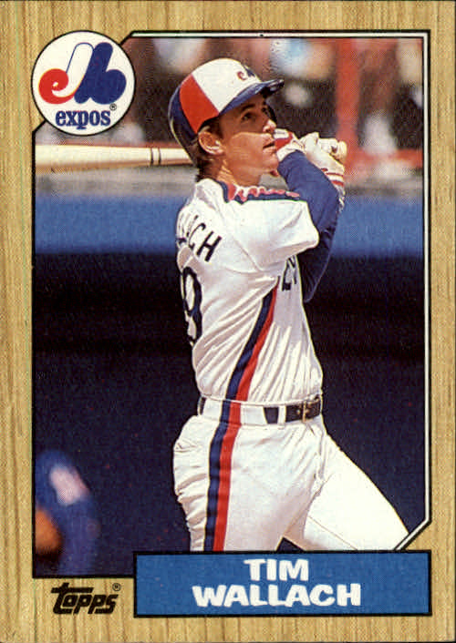 1987 Topps #55 Tim Wallach
