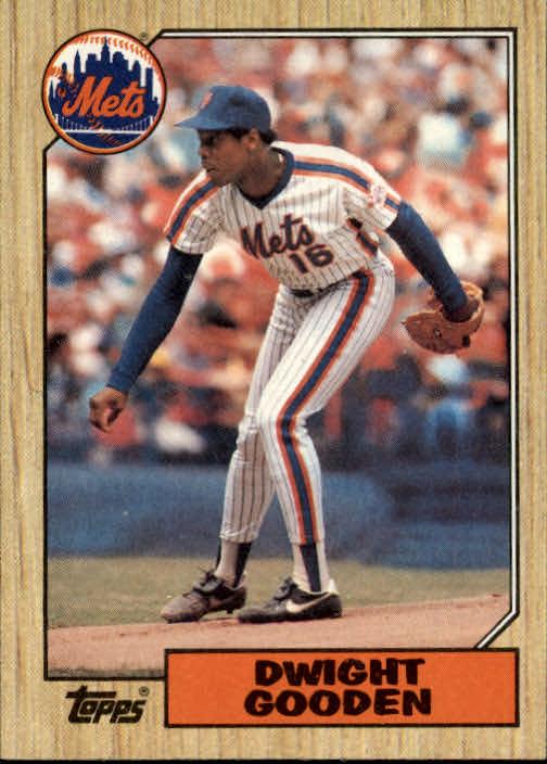1987 Topps #130 Dwight Gooden