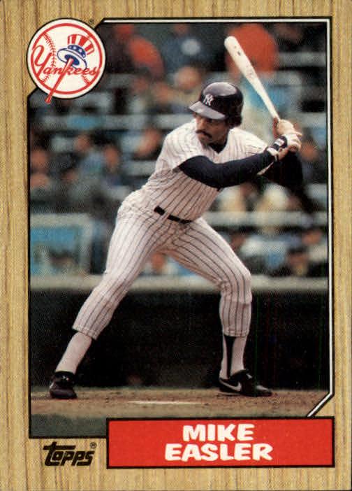 1987 Topps #135 Mike Easler