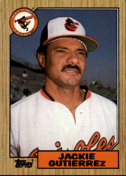 1987 Topps #276 Jackie Gutierrez
