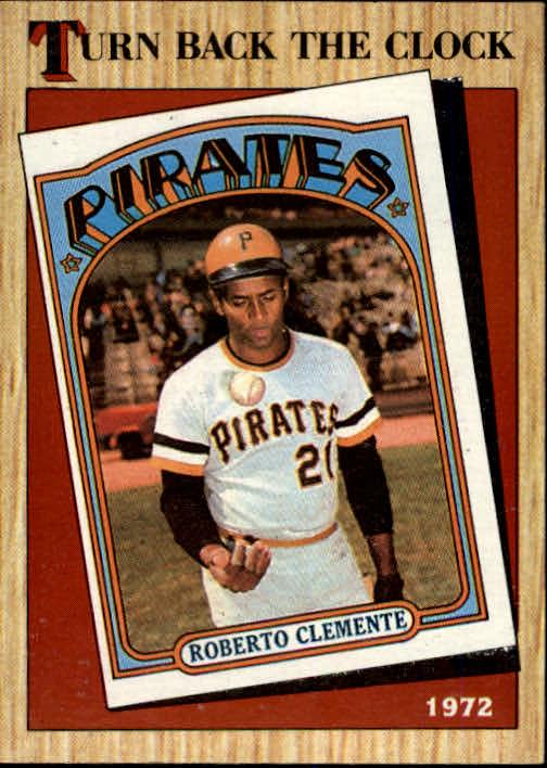 1987 Topps #313 Roberto Clemente TBC