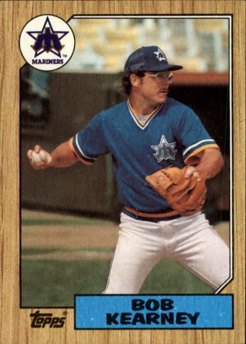 1987 Topps #498 Bob Kearney