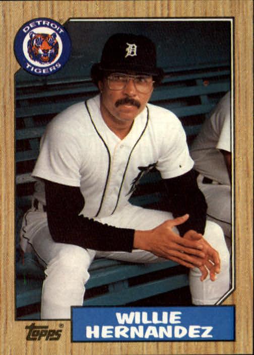 1987 Topps #515 Willie Hernandez