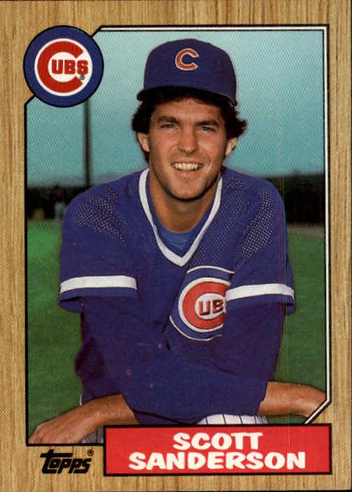 1987 Topps #534 Scott Sanderson