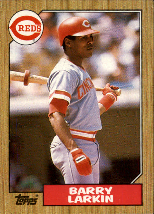 1987 Topps #648 Barry Larkin RC