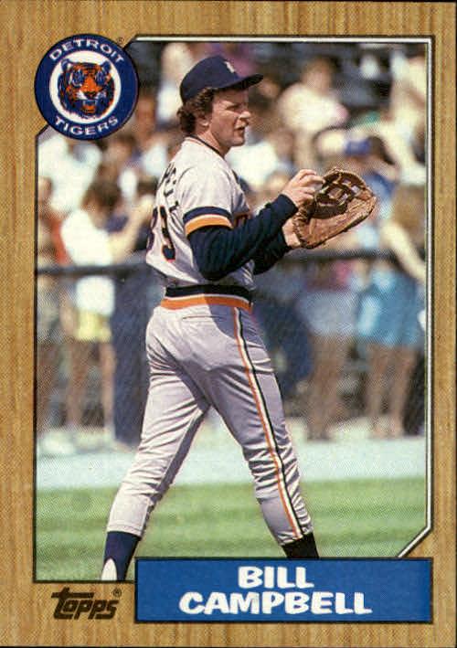 1987 Topps #674 Bill Campbell