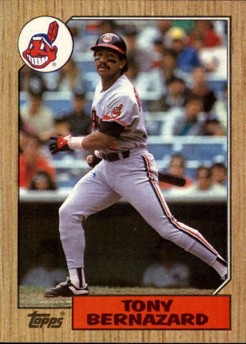 1987 Topps #758 Tony Bernazard