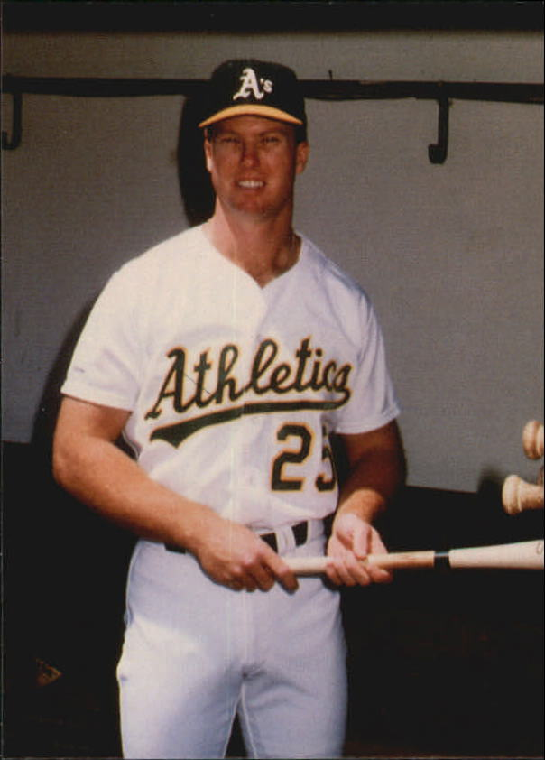 1987 Card Collectors McGwire #9 Mark McGwire