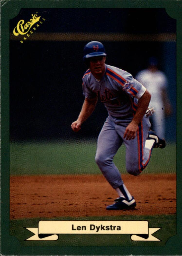 1987 Classic Game #2 Len Dykstra
