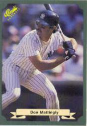 1987 Classic Game #10 Don Mattingly