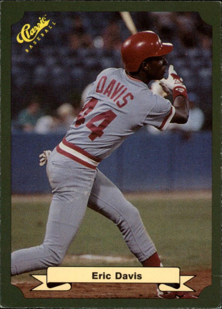 1987 Classic Game #21 Eric Davis