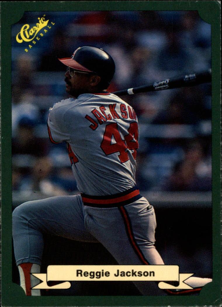1987 Classic Game #24 Reggie Jackson