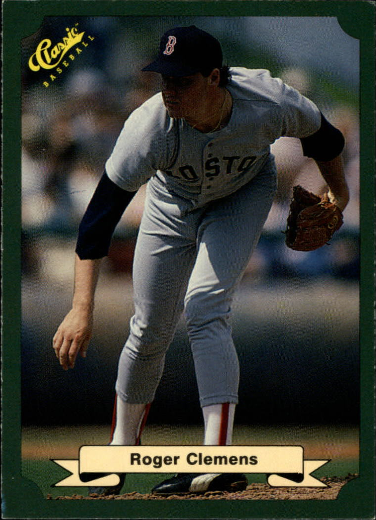 Details About Roger Clemens 1987 Classic Game Green Baseball Card 84