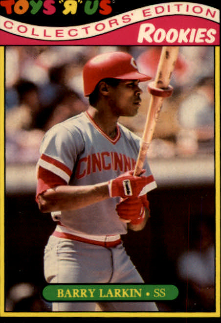 1987 Toys R Us Rookies #18 Barry Larkin