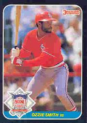 1987 Donruss All-Stars #15 Ozzie Smith