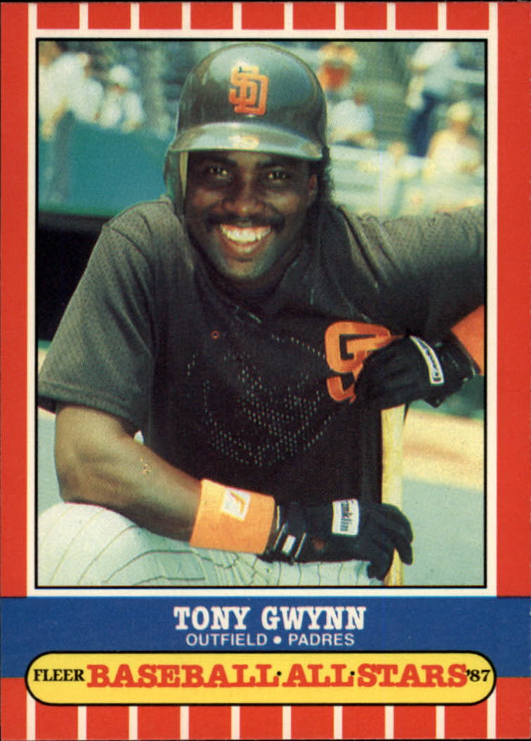 1987 Fleer Baseball All-Stars #20 Tony Gwynn