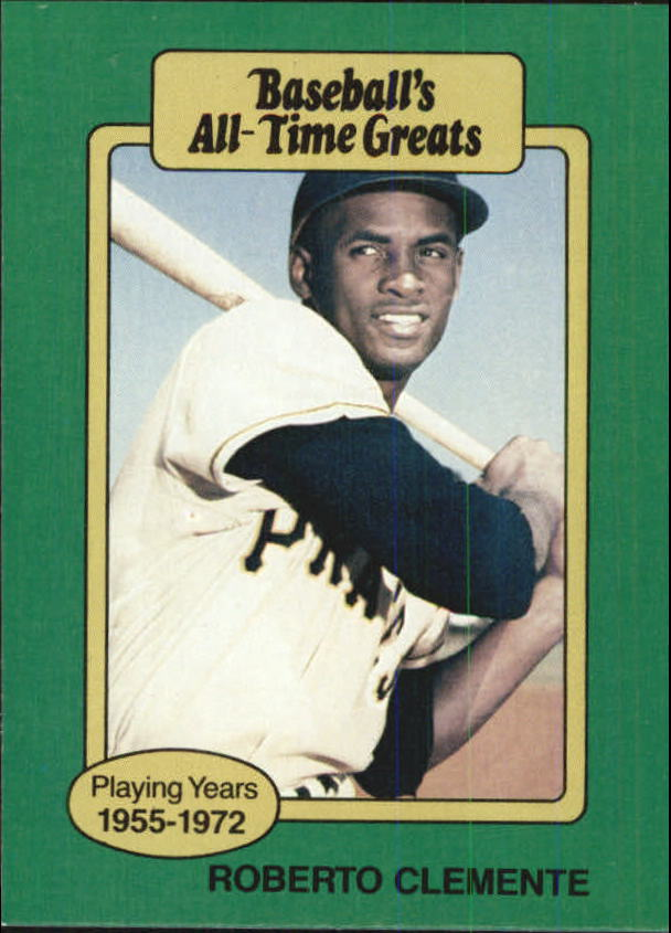 1987 Hygrade All-Time Greats #19 Roberto Clemente