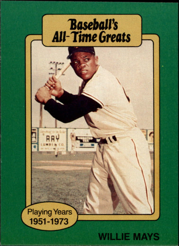 1987 Hygrade All-Time Greats #66 Willie Mays