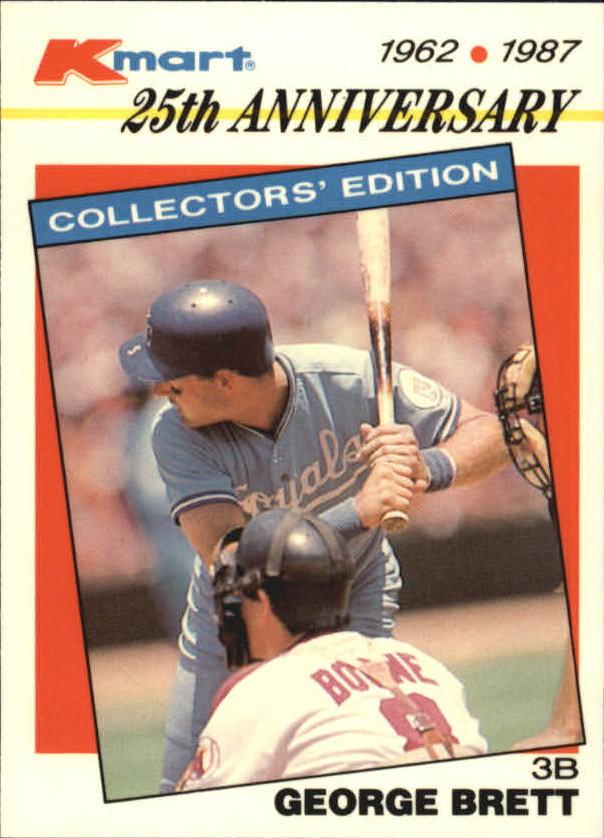 1987 K-Mart #24 George Brett