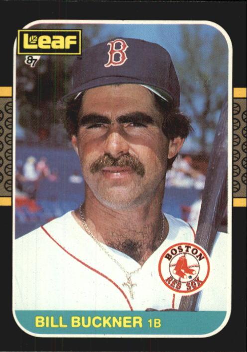 1987 Leaf/Donruss #241 Bill Buckner