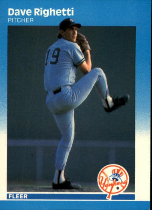 1987 Fleer #111 Dave Righetti