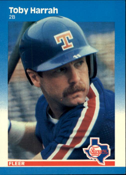 1987 Fleer #125 Toby Harrah