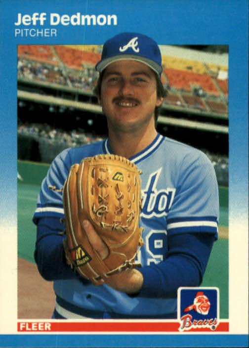 1987 Fleer #514 Jeff Dedmon