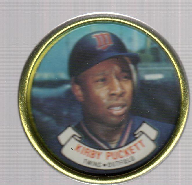 1987 Topps Coins #20 Kirby Puckett