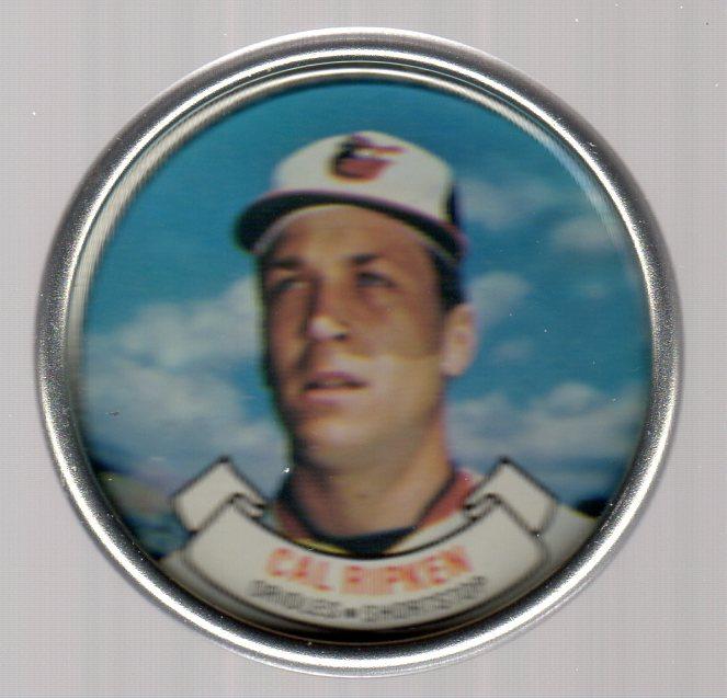 1987 Topps Coins #23 Cal Ripken
