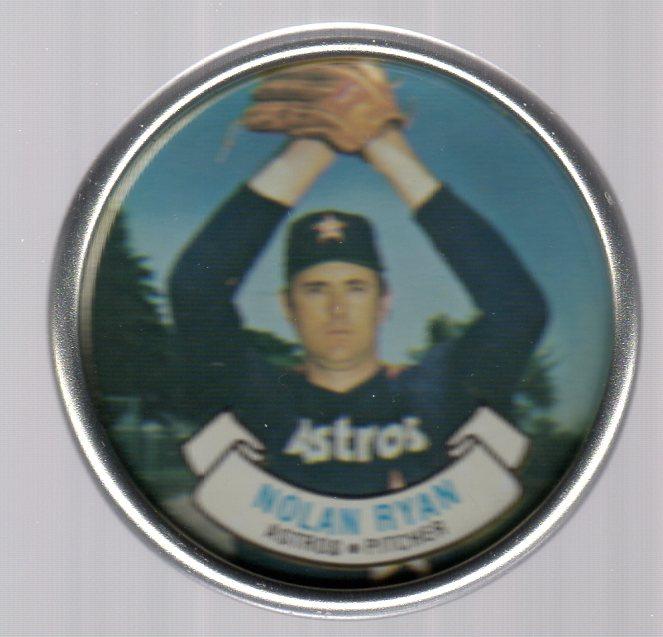 1987 Topps Coins #40 Nolan Ryan
