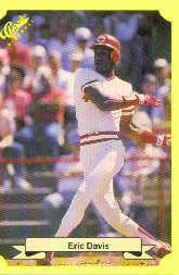 1987 Classic Update Yellow #102 Eric Davis