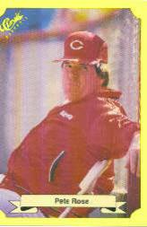 1987 Classic Update Yellow #103 Pete Rose