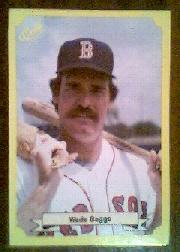 1987 Classic Update Yellow #105 Wade Boggs