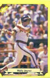 1987 Classic Update Yellow #108 Wally Joyner