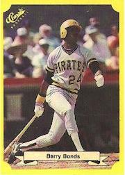 1987 Classic Update Yellow #113 Barry Bonds