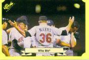 1987 Classic Update Yellow #120 Who Me (Joe Niekro)